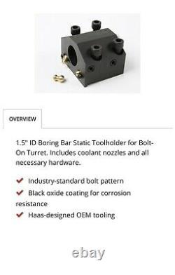Haas BOT20ID-1 1/2 Boring Bar Holder