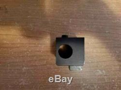 Haas standard gang style boring bar tool holder 3/4 1/2 center height