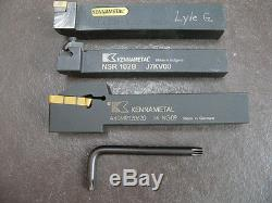 Indexable Boring Bars, Tool Holders, Inserts, Machinist Lot