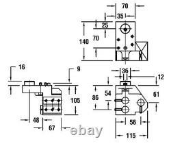 KDFZ401 L Citizen Cincom CNC TRIPLE BORING BAR HOLDER 1 L32 M20 M32
