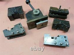 KDK 100 Quick Change Tool Post Set 105667 with 3/4 & 1 1/4 boring bar holders