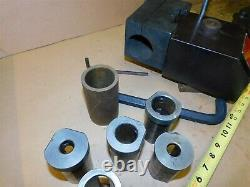 KDK 300 Quick Change Extra LARGE Tool Post With 305P 2 1/2 Boring Bar Holder