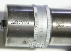 Kaiser AW04-27 CKS4 High Precision Boring Head With SK40 Tool Holder