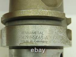Kennametal DR2691429/HSK63A Indexable Insert Boring Bar Tool Holder Mill Cutter