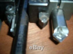 LOT (6) Aloris DORIAN AXA Lathe tool holders BORING BARS PARTING INSERTS CHAMFER
