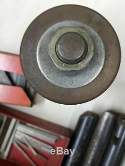 Lathe Tool Post Boring Bar Holder & Misc. Boring Bars