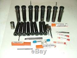 Micro 100 Boring Bar Tool Holders And Carbide Boring Bars, Hardinge Turret Lathe