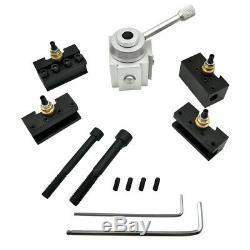 Mini CNC Quick Change Lathe Tool Post Cutter Holder Screw Kit Boring Bar A5V6