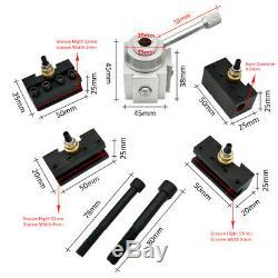 Mini Lathe Quick Change Tool Post CNC Turning Tool Holder Boring Bar Screw S4L6