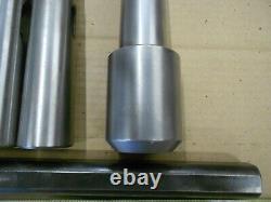 Morse Taper 5- 1-1/4 Endmill Holder + Boring Bar + Mt5 Adapters Free Ship Cheap