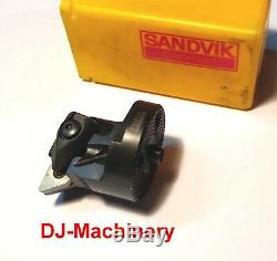 New Sandvik Tool Holder Boring Head Bar DNMG 322 Carbide Inserts 570-DDUNR-32-11