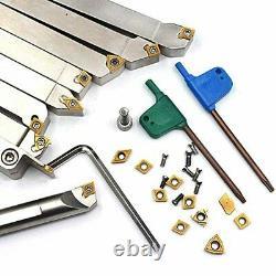 OSCARBIDE 1/2Shank Indexable Carbide Lathe Turning Tool Holder and Boring Bar