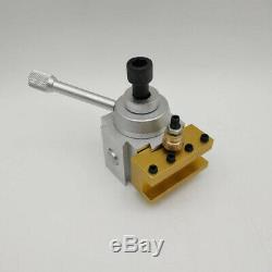 Quick Change Boring Bar Turning Tool Post & Holder Set For CNC Mini Lathe L0Z7