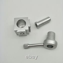 Quick Change Post Holder 9pcs Boring Bar Turning Tool for CNC Mini Lathe K6H1