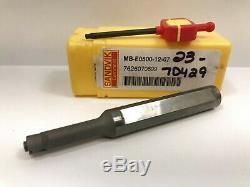SANDVIK MB-E0500-12-07 Insert Holder Boring Bar 1pc NEW