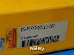 Sandvik Coromant C5-PTFNR-22110-16W T-MAX Indexable Tool Holder Boring bAR Capto