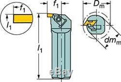 Sandvik Coromant SI-CTLHOR-16163 Steel Top-Lok Boring Bar for Grooving Holder