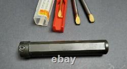 Sandvik ¾ to CoroTurn XS 7mm Boring Bar Holder & Inserts NEW&Used Machinist CXS
