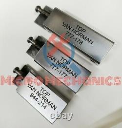 Set Of 3 Van Norman Boring Bar Tool Holders Short Medium Long 944, 944s, 777