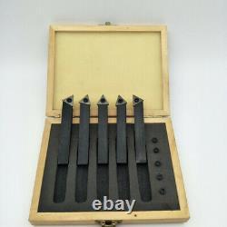 Small Size Portable 19 Pcs Quick Change Post Holder Kit Boring Bar Turning W1H5