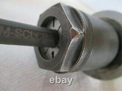 Triad E06M-SCLCR2 Lathe Indexable Boring Bar with 1 1/4 x 2 Mill Holder Adapter