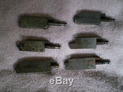 Van Norman Boring Bar Bits / Tool Holder Bits for Model 777 - set of 6
