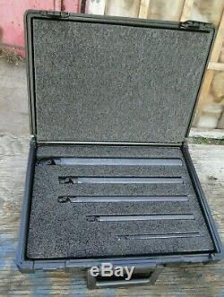 Vintage RTW Indexable Cutting Tool Holder Boring Bar Set Used Free Shipping