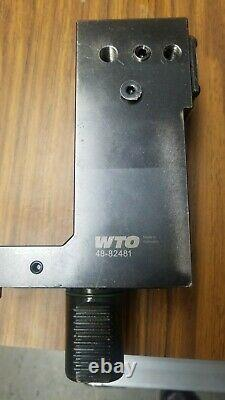 WTO 48-82481 Boring Bar Holder 1-1/2. Mazak 250M, MS, Hyper Quadrex 250M