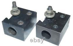 Yuasa 740-204 Boring Bar Holders, BXA, Light and Heavy Duty, 1/4 Cutter Slots
